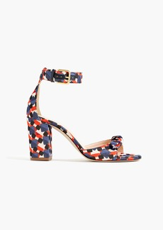 J.Crew Knotted high-heel sandals
