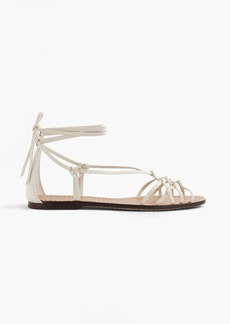 J.Crew Knotted leather sandals