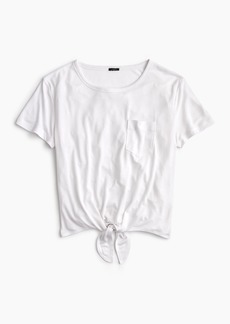 J.Crew Knotted pocket T-shirt