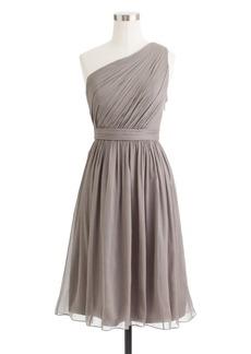 Kylie dress in silk chiffon
