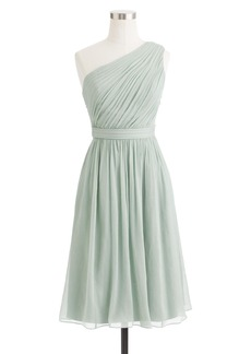 J.Crew Kylie dress in silk chiffon