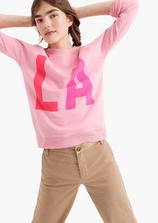 "J.Crew ""LA"" sweatshirt"