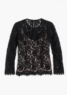 J.Crew Lace top with built-in cami