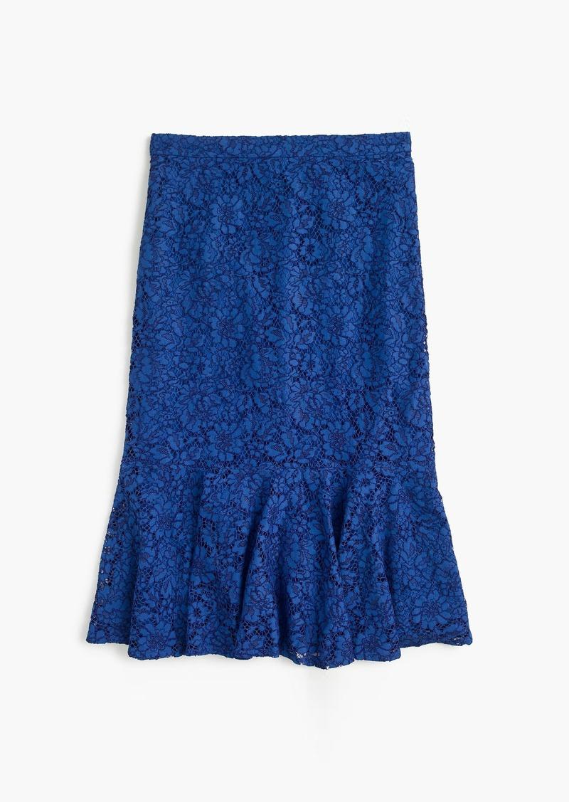 c12073cc6 J.Crew Lace trumpet skirt   Skirts