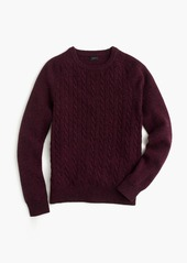 J.Crew Lambswool cable sweater