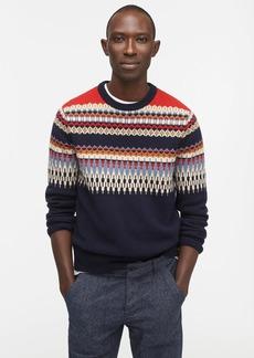 J.Crew Lambswool sweater in Fair Isle
