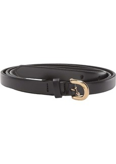 J.Crew Laura Skinny Leather Bombe Belt