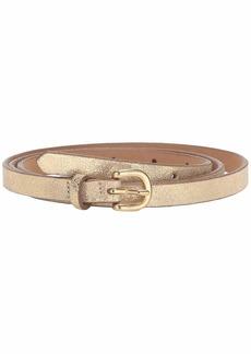 J.Crew Laura Skinny Leather Bombe Belt