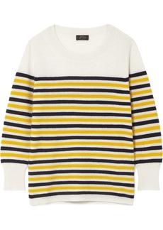 J.Crew Layla Striped Cashmere Sweater