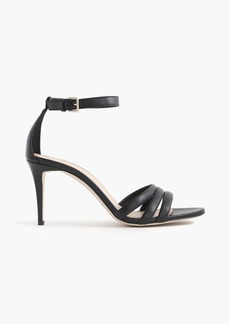 J.Crew Leather ankle-strap sandals