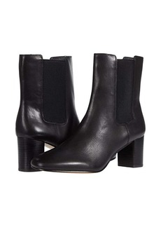 J.Crew Leather Chelsea Stacked Mckay Boot