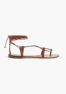 J.Crew Leather lace-up sandals