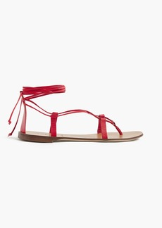 J.Crew Leather lace-up sandals