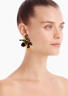 Lele Sadoughi X J.Crew Paper Lily earrings