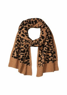 J.Crew Leopard Supersoft Scarf