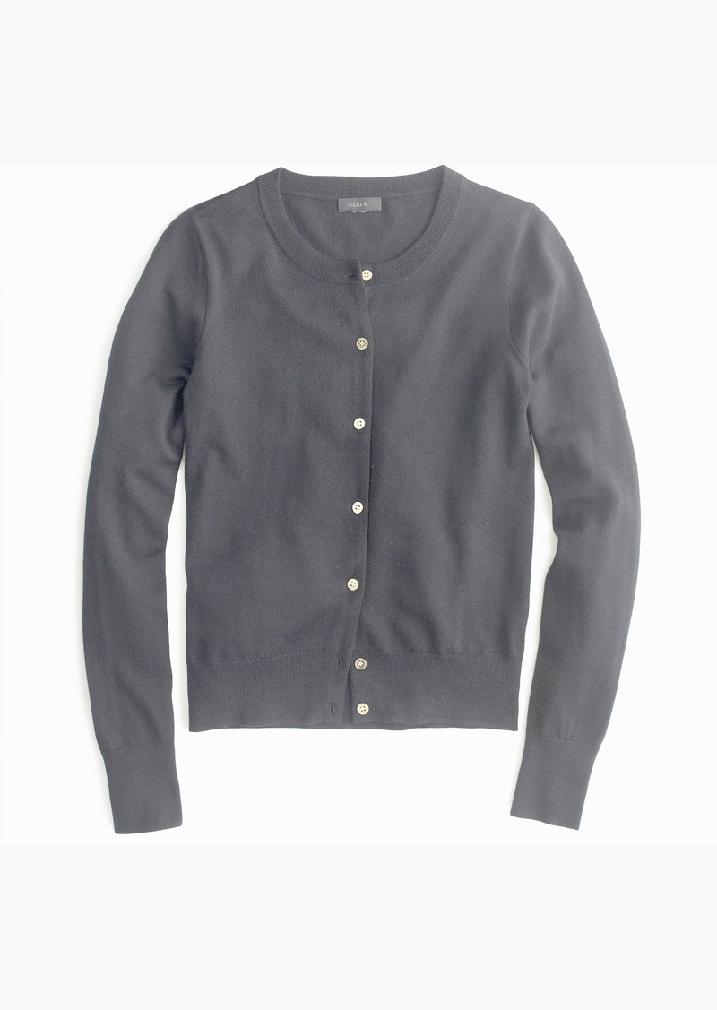 f073b5f825 J.Crew Lightweight wool Jackie cardigan sweater