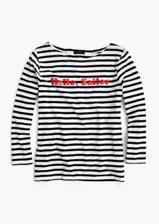 "Limited-edition National Stripes Day T-shirt in ""Hello, Sailor"""