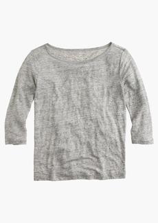 J.Crew Linen boatneck T-shirt