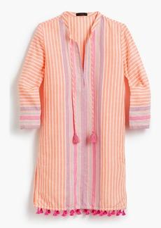J.Crew Linen tunic in vintage stripe