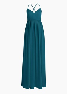 J.Crew Long drapey spaghetti-strap dress