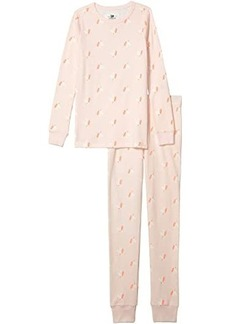 J.Crew Long Sleeve Sleep Set Unicorn (Toddler/Little Kids/Big Kids)
