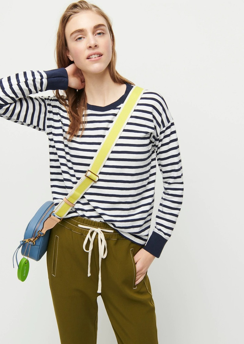J.Crew Long-sleeve striped ringer T-shirt