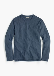 J.Crew Long-sleeve T-shirt in overdyed jersey