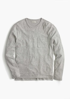 Long-sleeve T-shirt in overdyed jersey