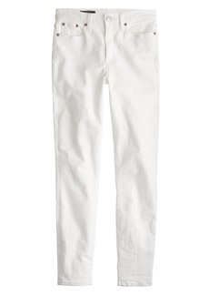 "Petite 9"" lookout high-rise crop jean in white"