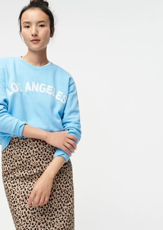 "J.Crew ""Los Angeles"" crewneck sweatshirt"