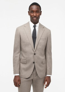 J.Crew Ludlow Classic-fit suit jacket in Italian heathered wool flannel