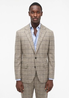 J.Crew Ludlow Classic-fit suit jacket in Scottish windowpane wool
