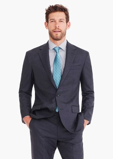 8cfa70f2a6a8 J.Crew Ludlow Classic-fit suit jacket with double vent in charcoal American  wool