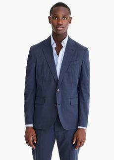 J.Crew Ludlow Classic-fit unstructured suit jacket in cotton-linen