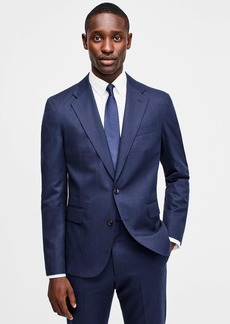 J.Crew Ludlow Classic-fit unstructured suit jacket in English wool-cotton