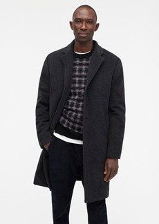 J.Crew Ludlow insulated topcoat in wool-cashmere with eco-friendly PrimaLoft®
