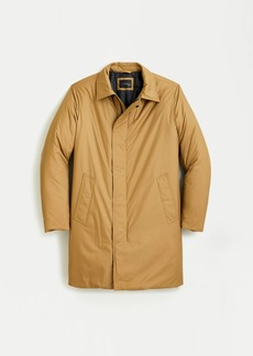 J.Crew Ludlow insulated trench coat with eco-friendly PrimaLoft®