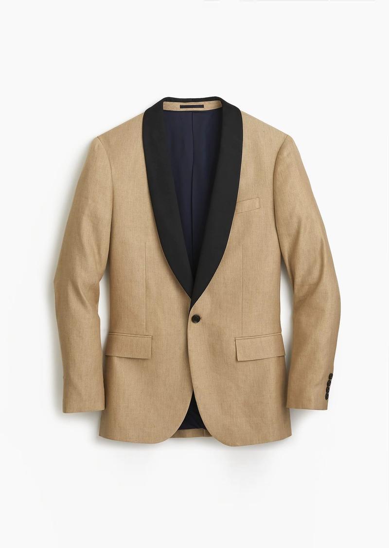 d728d12869683 J.Crew Ludlow Slim-fit shawl-collar tuxedo jacket in linen-silk ...