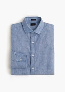 J.Crew Ludlow shirt in délavé Irish linen
