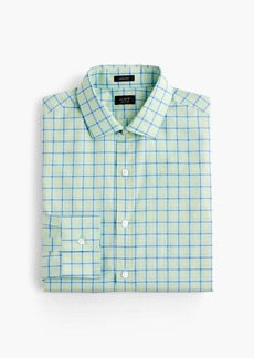 J.Crew Ludlow shirt in green tattersall