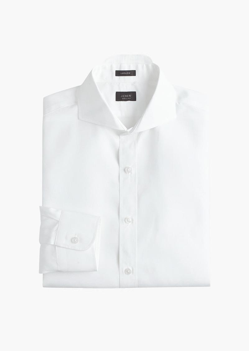 Jew Ludlow Slim Fit Cutaway Collar Shirt