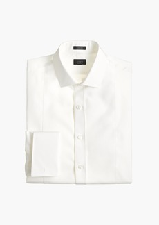 J.Crew Ludlow Slim-fit piqué bib tuxedo shirt