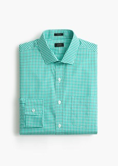 J.Crew Ludlow Slim-fit shirt in chocolate gingham