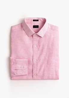 J.Crew Ludlow Slim-fit shirt in end-on-end cotton-linen