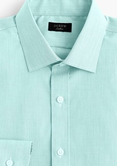J.Crew Ludlow Slim-fit stretch two-ply easy-care cotton dress shirt in end-on-end cotton
