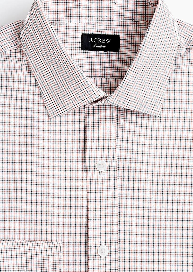 0e5e6a601d5c J.Crew Ludlow Slim-fit stretch two-ply easy-care cotton dress shirt ...