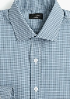 J.Crew Ludlow stretch two-ply easy-care cotton dress shirt in microgingham