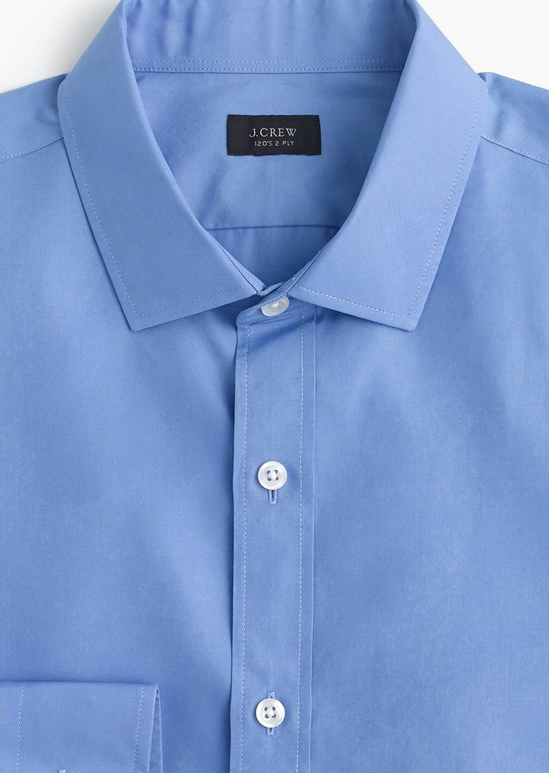 913dcf077f814 J.Crew Ludlow stretch two-ply easy-care cotton dress shirt in solid ...