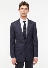 J.Crew Ludlow Slim-fit suit jacket in English mini-herringbone windowpane wool
