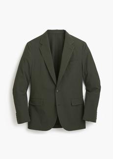 J.Crew Ludlow Slim-fit unstructured suit jacket in seersucker